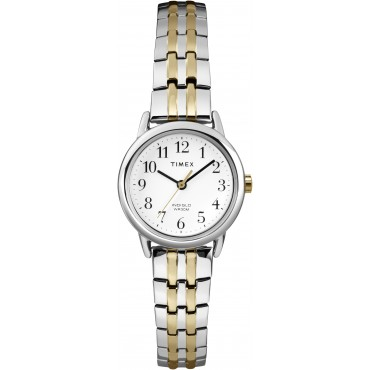 Timex Women's Easy Reader Two-Tone Watch with Expansion Band