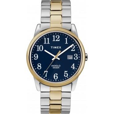 Timex TW2R58500 Men's Two-tone Expansion Bracelet Watch