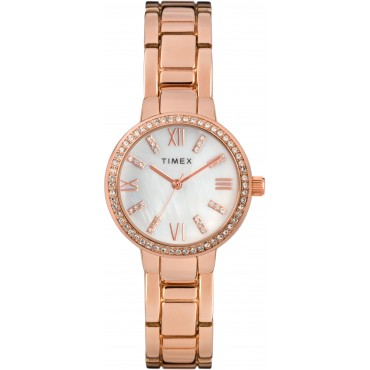 Timex TW2T58500 Timex Women's 30mm Bracelet Watch with Swarovski   Crystals
