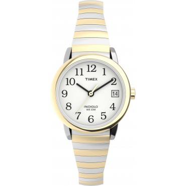 Timex TW2U79100 Easy Reader   25mm Expansion Band Watch