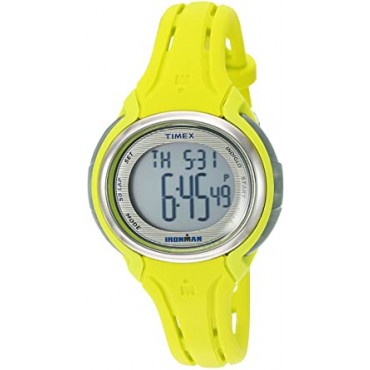 Timex Women's Ironman Sleek 50 Round Resin Watch