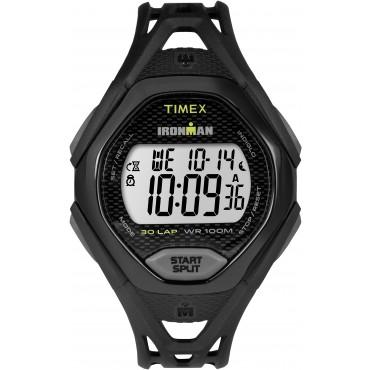 Timex Mens TW5M10400 IRONMAN Sleek 30 Full-size Black Sport Watch