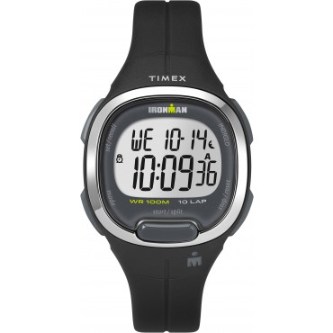 Timex TW5M19600 Women's Ironman   Transit Essential 10 Black Resin Strap Watch