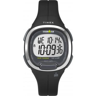 Timex TW5M19600 Women's Ironman   Transit Essential 10 Black Resin Strap Watch