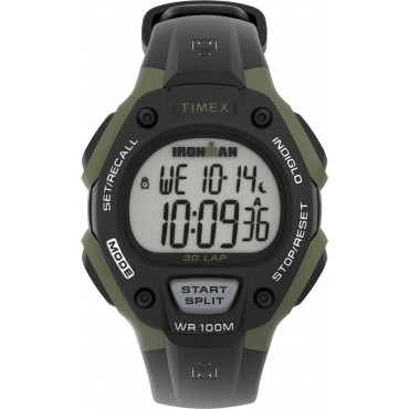 Timex TW5M44500 Ironman   Classic 30 Full-Size 38mm Resin Strap Watch