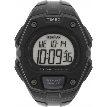 Timex TW5M46100 Ironman   Classic 30 Oversized 43mm Resin Strap Watch
