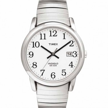 Timex Mens Easy Reader Silvertone Watch