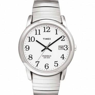 Timex Mens Easy Reader Silvertone Watch