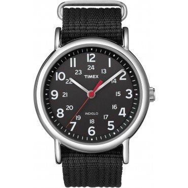Timex Unisex T2N647 Black Weekender Casual Watch
