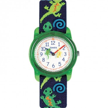 Timex Youth Kids Analog Lizard Print Watch