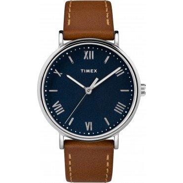 Timex TW2R63900 Men's Southview 41mm Tan Leather Strap Watch