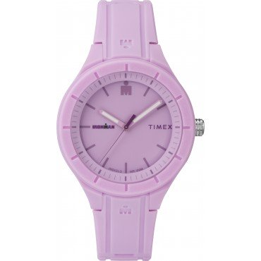 Timex TW5M17300 Women's Ironman Essential 38mm Purple Silicone Strap Watch