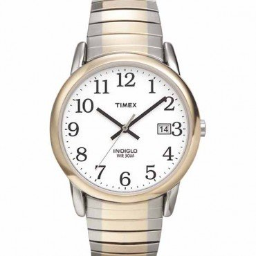 Timex Mens Easy Reader Two-tone Watch